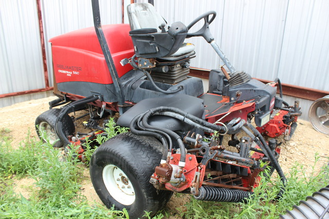 2006 Toro Reelmaster Crosstrax 5610 AWD Fairway Mower San Antonio, Texas 0