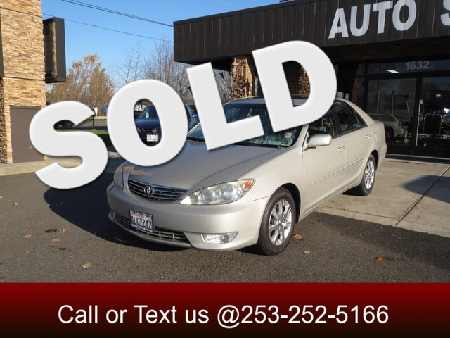 2006 Toyota Camry XLE V6 The CARFAX Buy Back Guarantee that comes with this vehicle means that you