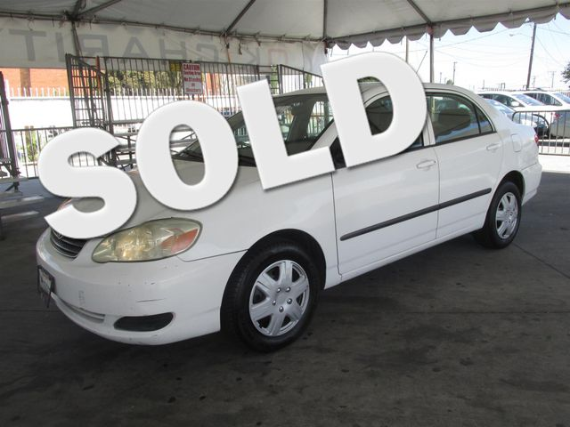 2006 Toyota Corolla CE This particular Vehicles true mileage is unknown TMU Please call or e-m