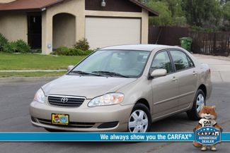2006 Toyota COROLLA LE SEDAN ONLY 82K ORIGINAL MLS AUTOMATIC SERVICE RECORDS! Woodland Hills, CA