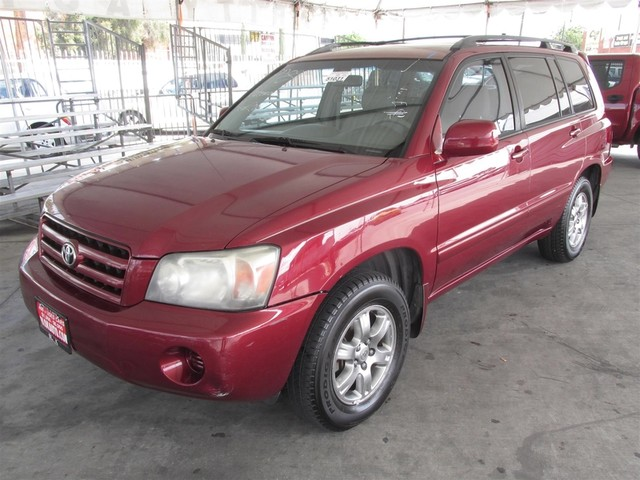 2006 Toyota Highlander w3rd Row This particular Vehicle comes with 3rd Row Seat Please call or e