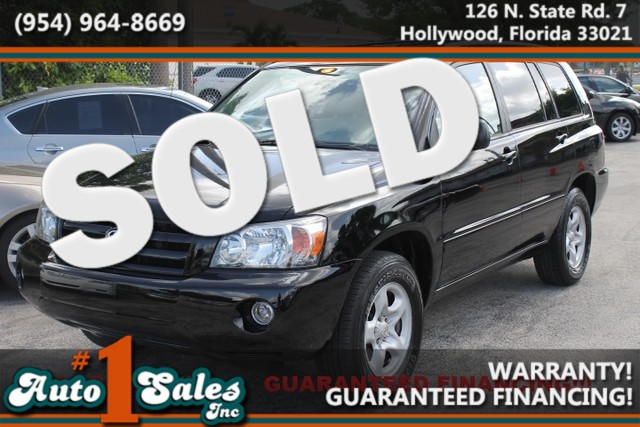 2006 Toyota Highlander  WARRANTY 2 OWNERS FLORIDA VEHICLE Dependable and Economical are