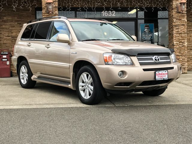 2006 Toyota Highlander Hybrid AWD The CARFAX Buy Back Guarantee that comes with this vehicle means