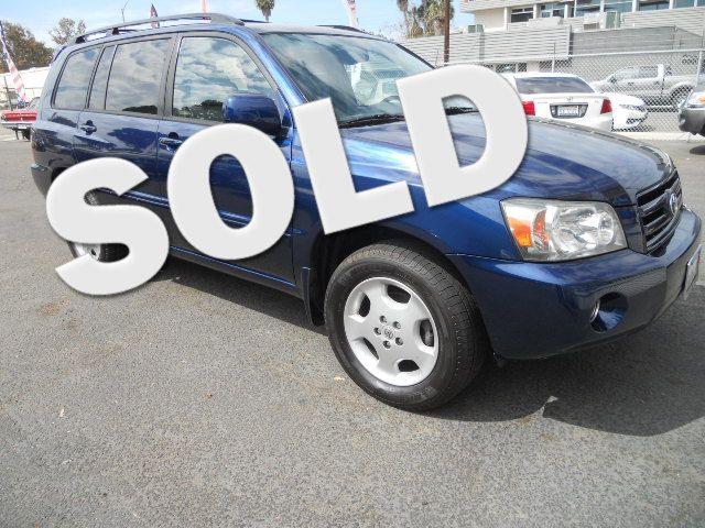2006 Toyota Highlander Limited w/3rd Row San Diego, CA