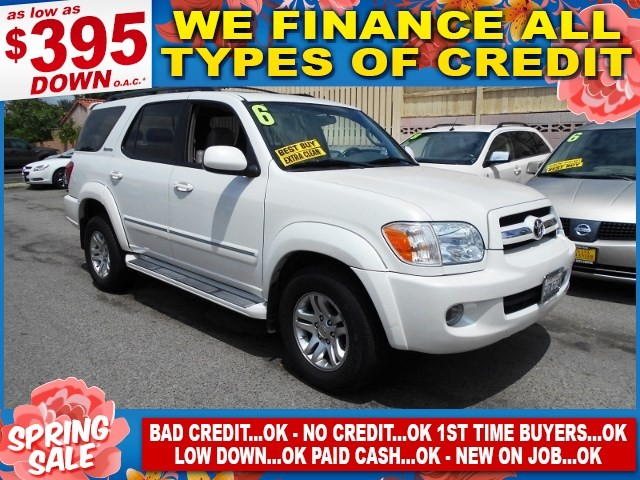 2006 Toyota Sequoia Limited Limited warranty included to assure your worry-free purchase AutoChec