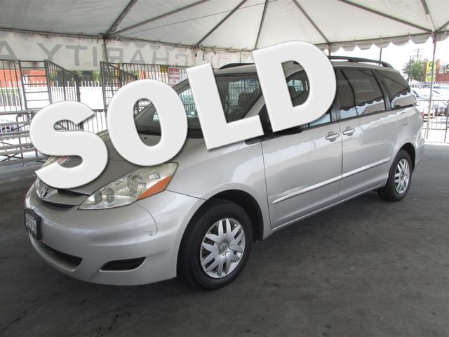 2006 Toyota Sienna LE This particular Vehicles true mileage is unknown TMU Please call or e-ma