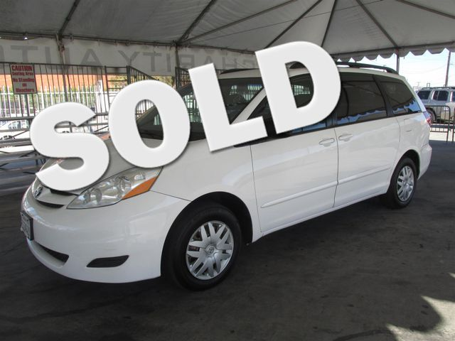 2006 Toyota Sienna LE This particular Vehicle comes with 3rd Row Seat Please call or e-mail to ch