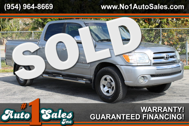 2006 Toyota Tundra SR5  WARRANTY 2 OWNERS 14 SERVICE RECORDS FLORIDA VEHICLE TRADES WELCOME