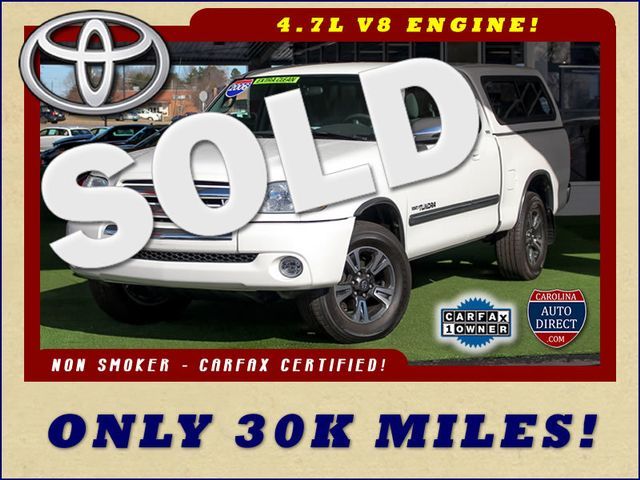 2006 Toyota Tundra SR5 Access Cab RWD - ONLY 30K MILES - 1 OWNER! Mooresville , NC 0