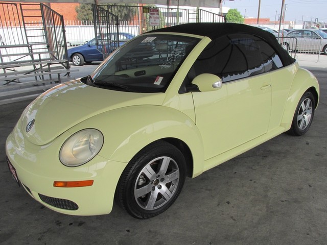 2006 Volkswagen New Beetle Please call or e-mail to check availability All of our vehicles are a