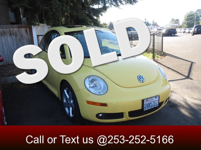 2006 Volkswagen New Beetle The CARFAX Buy Back Guarantee that comes with this vehicle means that y