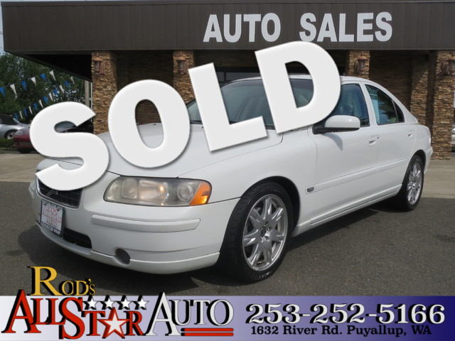 2006 Volvo S60 25L Turbo The CARFAX Buy Back Guarantee that comes with this vehicle means that yo