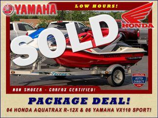 2006 Yamaha VX110  Sport & 2004 Honda Aquatrax R-12X Mooresville , NC