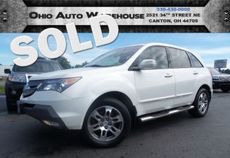 2007 Acura MDX AWD Navi Sunroof Cln CarfaxWe Finance | Canton, Ohio | Ohio Auto Warehouse LLC in  Ohio