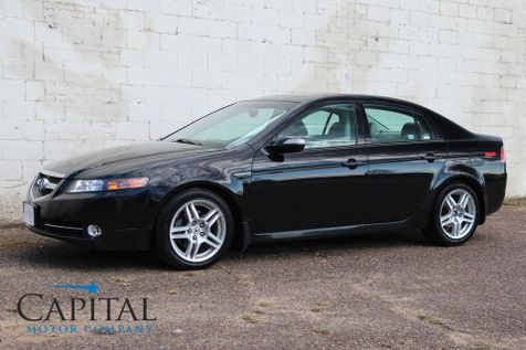 2007 Acura TL with Touchscreen Navigation, Rear-View Camera, Heated Seats and Moonroof in Eau Claire