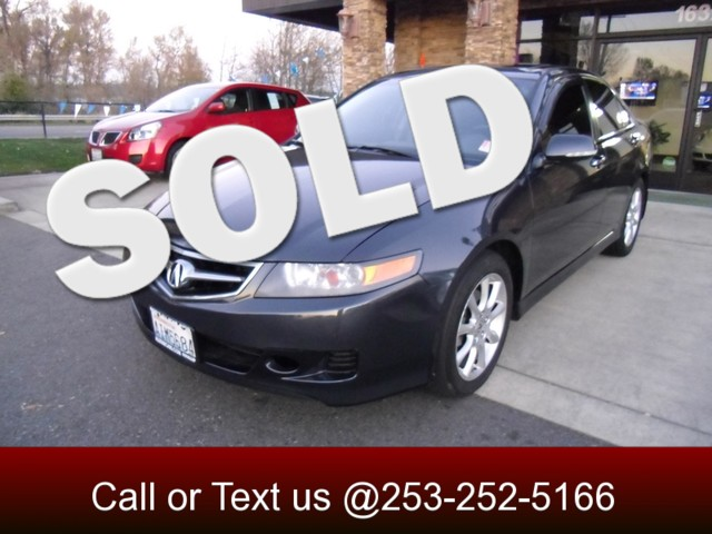 2007 Acura TSX As far as design and quality are concerned this TSX is right on par and ready to co