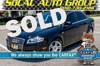 2007 Audi A4 2.0T QUATTRO - 6SPD - PREMIUM - 91K MILES Reseda, CA