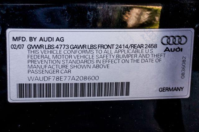 2007 Audi A4 2.0T QUATTRO - 6SPD - PREMIUM - 91K MILES Reseda, CA 34
