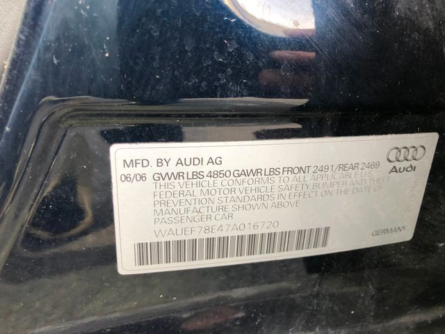 2007 Audi A4 2.0T Sterling, Virginia 26