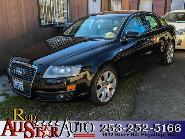 2007 Audi A6 32L AWD The CARFAX Buy Back Guarantee that comes with this vehicle means that you ca