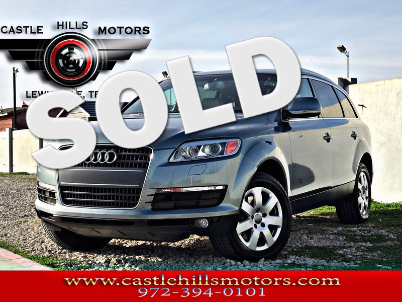 2007 Audi Q7 **INCLUDES 2 YRS FREE MAINTENANCE** Premium - Pano Roof, Nav, Back Cam, 4 Hot Seats in Lewisville Texas