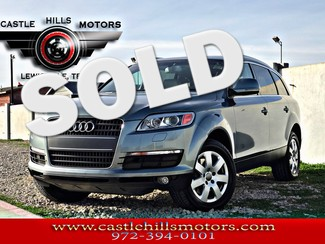 2007 Audi Q7 **INCLUDES 2 YRS FREE MAINTENANCE** Premium - Pano Roof, Nav, Back Cam, 4 Hot Seats in Lewisville, Texas