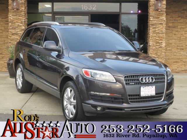 2007 Audi Q7 Premium AWD The CARFAX Buy Back Guarantee that comes with this vehicle means that you