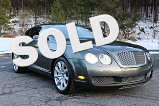 2007 Bentley Continental GT Mooresville, North Carolina
