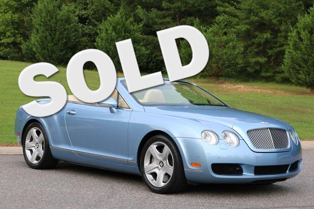 2007 Bentley Continental GTC Convertible Mooresville, North Carolina 0