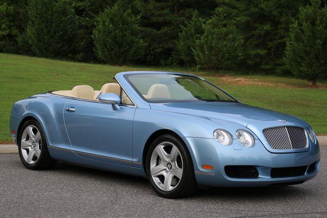 2007 Bentley Continental GTC Convertible Mooresville, North Carolina 1