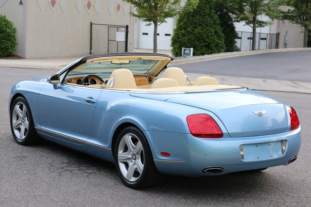 2007 Bentley Continental GTC Convertible Mooresville, North Carolina 4