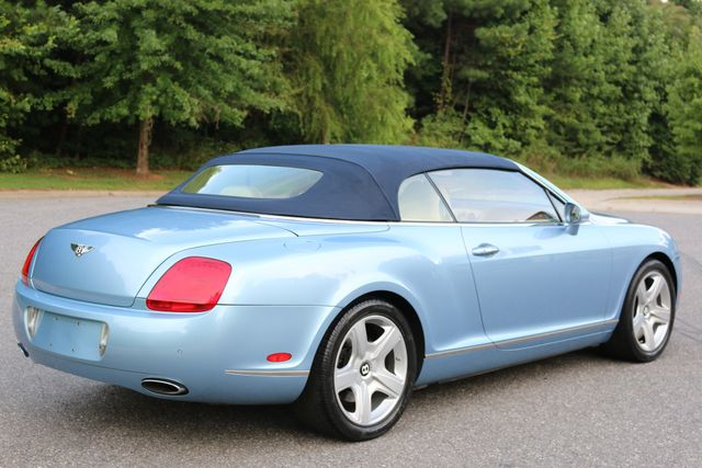 2007 Bentley Continental GTC Convertible Mooresville, North Carolina 69