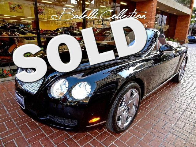 2007 Bentley Continental GTC Lease 60-84 Month Income & Sales Tax Savings San Diego, California 0