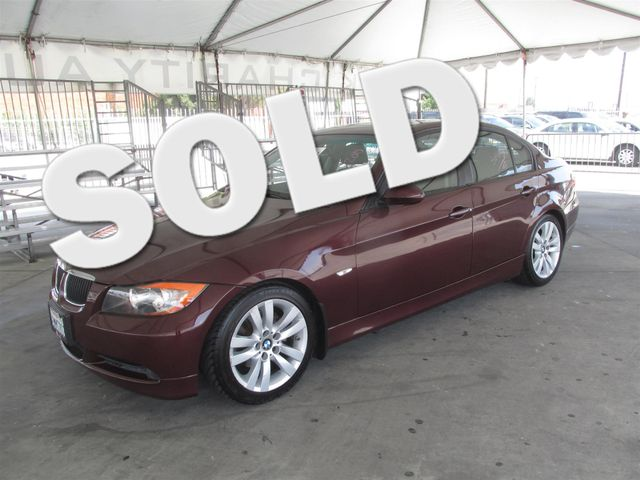 2007 BMW 328i This particular vehicle has a SALVAGE title Please call or email to check availabil