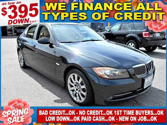 2007 BMW 335i I Limited warranty included to assure your worry-free purchase AutoCheck report is