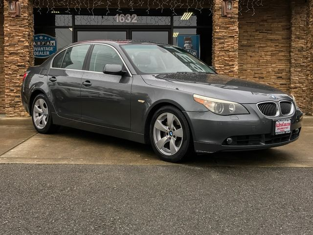 2007 BMW 5 Series 530i Gray 2007 BMW 5 Series 530i RWD 6-Speed Automatic with Steptronic 30L V6 D
