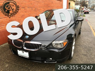 2007 BMW 650i Coupe 6-Speed Manual 41,000 Mile Sport Navigation Premium Sound Cold Weather Packages Seattle, Washington