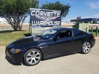 2007 BMW 650i Coupe Auto, Sunroof, Alloys 79k Miles! | Dallas, Texas | Corvette Warehouse  in Dallas Texas