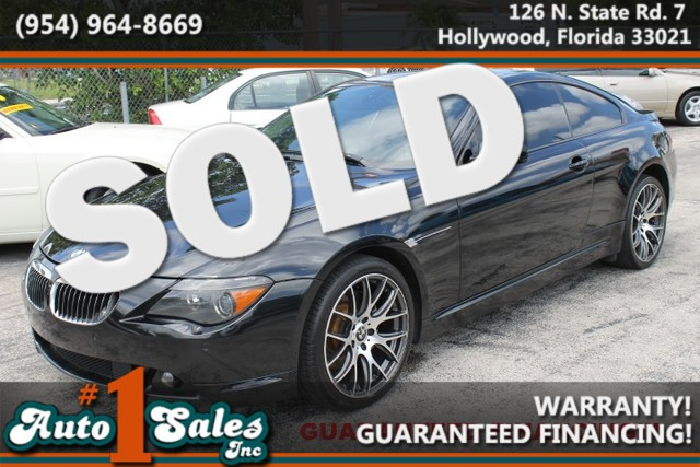 2007 BMW 650i  WARRANTY CARFAX CERTIFIED AUTOCHECK CERTIFIED 2 OWNERS 17 SERVICE RECORDS