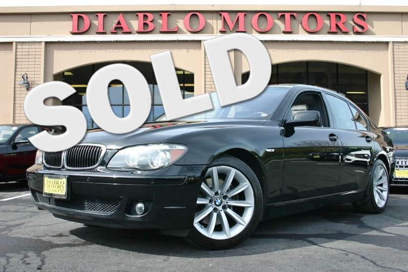 2007 BMW 750i with Premium, Navigation and Shadowline