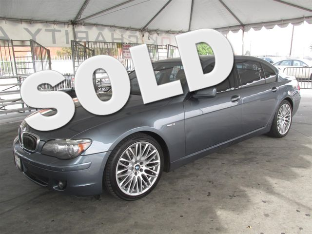 2007 BMW 750Li Please call or e-mail to check availability All of our vehicles are available fo