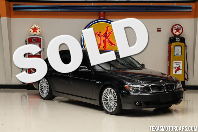 2007 BMW 750i This Clean Carfax 2007 BMW 750i is in great shape with only 69 864 miles The 750i