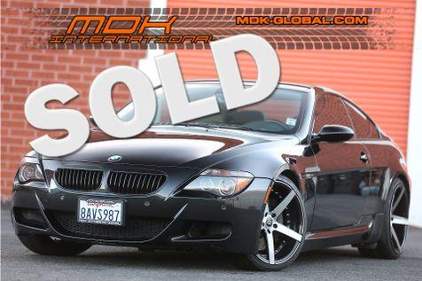 2007 BMW M Models M6 - Carbon Fiber interior - Head up display in Los Angeles