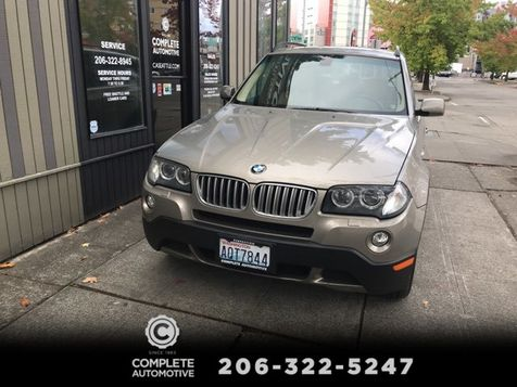 2007 BMW X3 3.0si All Wheel Drive Local 2 Owner History Premium Cold Weather Pano Roof Xenons 18
