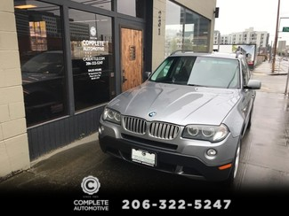 2007 BMW X3 3.0si All Wheel Drive Premium Package Heated Seats Pano Roof Xenons Local 2 Owner History in Seattle