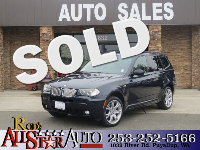 2007 BMW X3 30si AWD The CARFAX Buy Back Guarantee that comes with this vehicle means that you ca