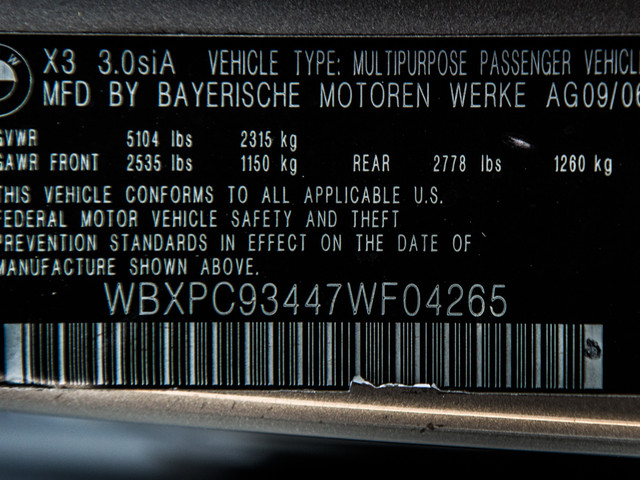 2007 BMW X3 3.0si Burbank, CA 23