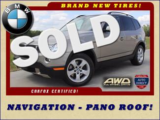 2007 BMW X3 3.0si AWD - NAVIGATION-PANO SUNROOFS! Mooresville , NC