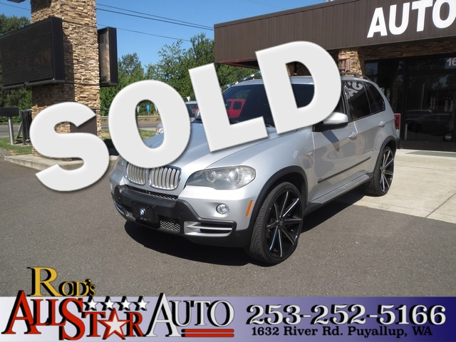 2007 BMW X5 48i AWD ALL WHEEL DRIVE NAVIGATION V8 24s 101k MILES Come Take A Look The