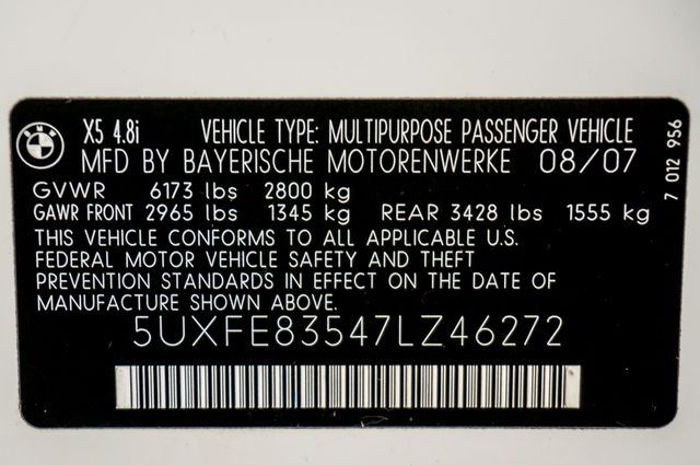 2007 BMW X5 4.8i Reseda, CA 45
